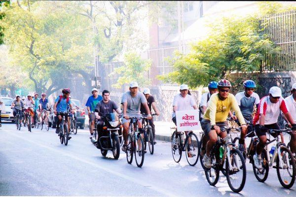 vipoc_Cycle rally by Shweta Association
