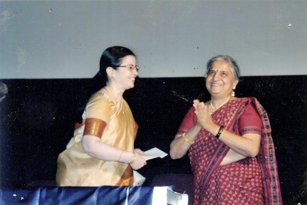 vipoc_Sudha Murthy at the Premier of 'Nital' 2006